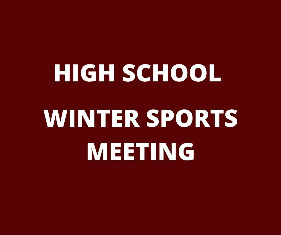 HIGH SCHOOL SPORTS MEETING