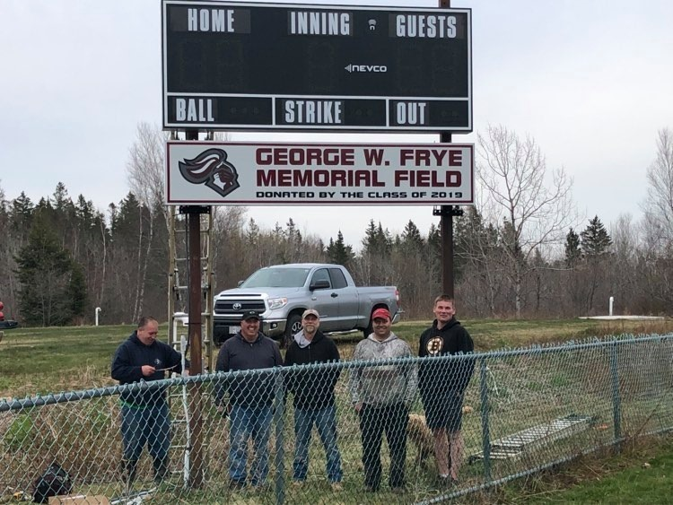 New Softball Sign Installed