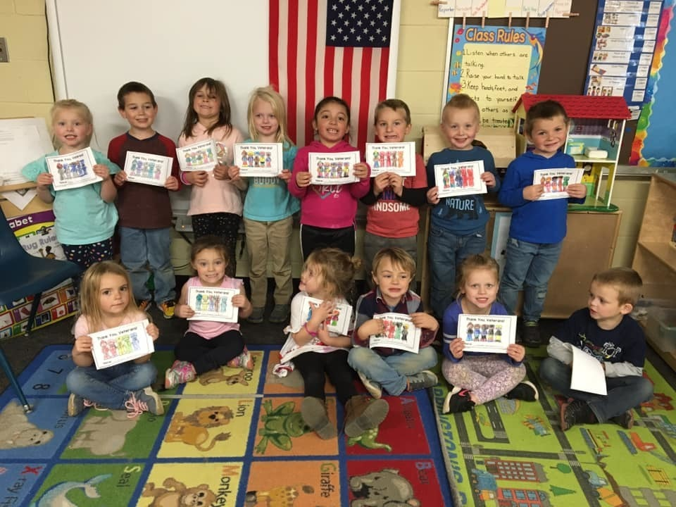 "Pre-K Says ""Thank-you!"
