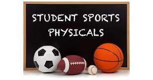 Sports Physicals This Week