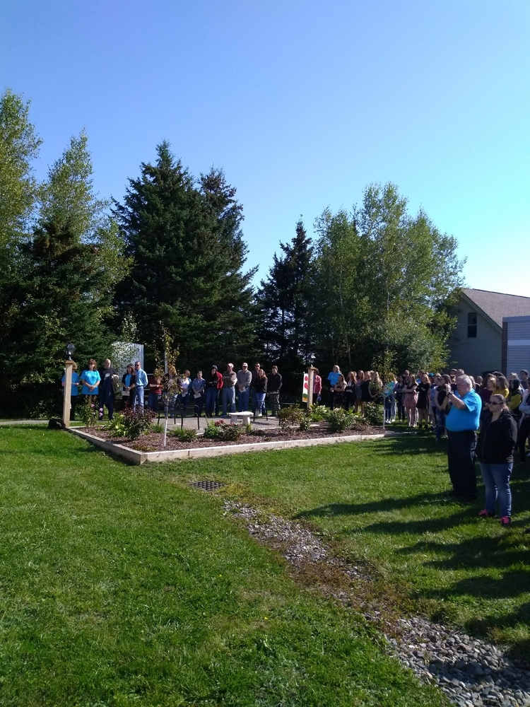 Dedication of Mary's Garden