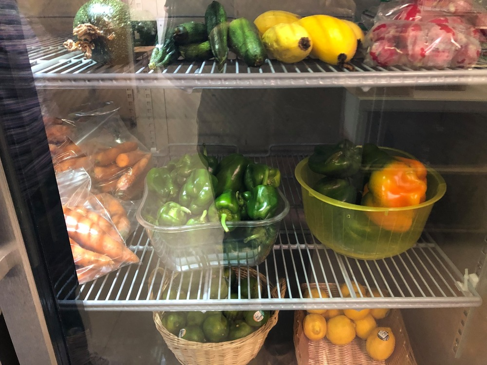 Veggies Donated to the Food Pantry