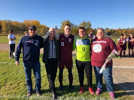 Senior Night for Boys' Soccer and Volleyball