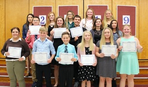 National Honor Society and National Junior Honor Society 2019 Induction
