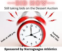 Bid Now~~Dessert Auction Ends Tomorrow