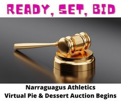 NARRAGUAGUS ATHLETICS VIRTUAL PIE & DESSERT AUCTION BEGINS