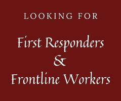 Looking for First Responders and Frontline Workers