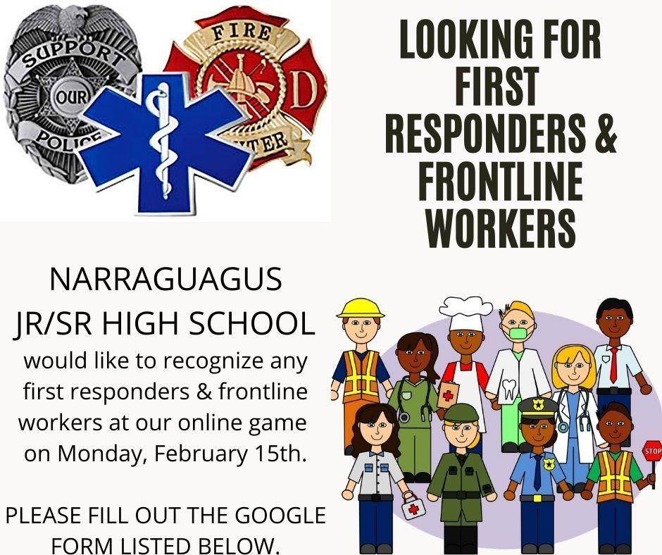First Responders and Frontline Workers
