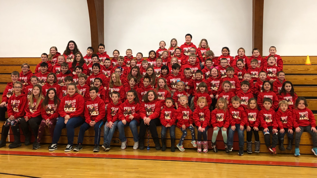 Thank you to the Booster's Club for the DWM sweatshirts!