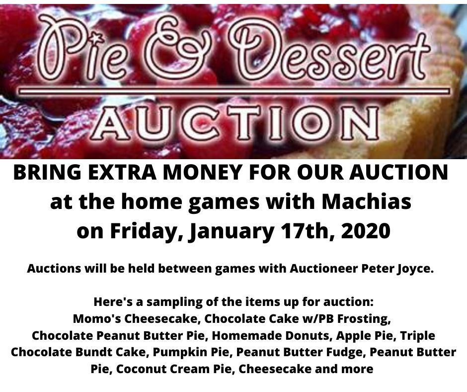 Pie and Dessert Auction