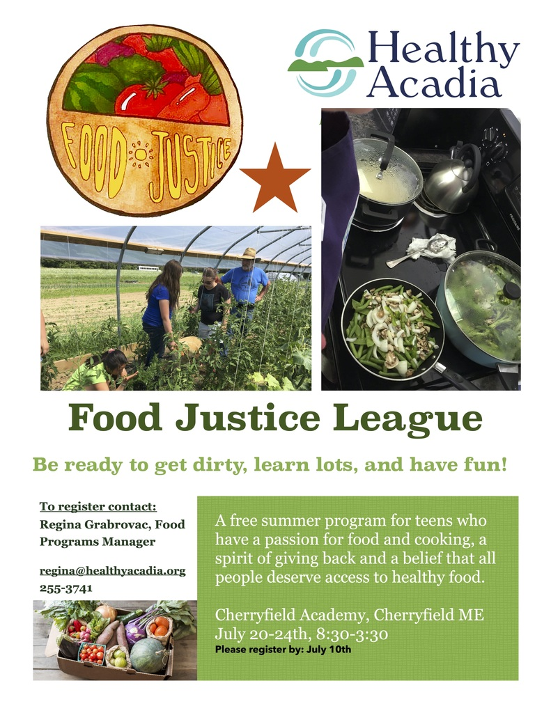 Food Justice League Posters