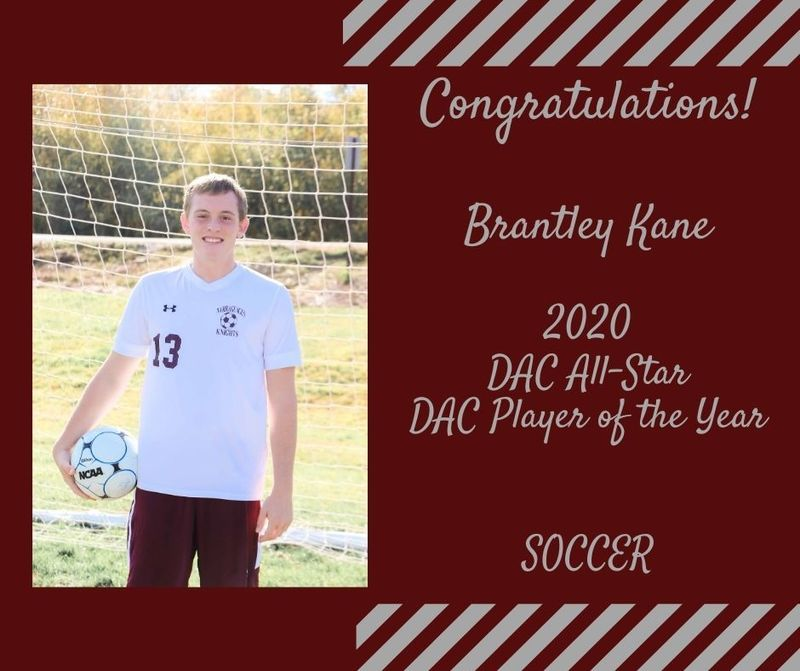 DAC AWARDS - BOYS SOCCER